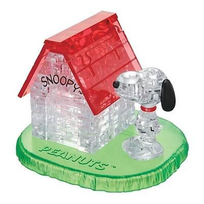 3D Crystal Puzzle Snoopy House - 3 Boyutlu Snoopy Evi Puzzle