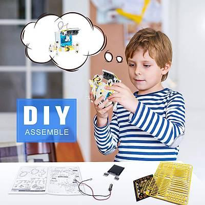 14 in 1 Educational Solar Robot Kit - Güneþ enerjili Robot Kiti