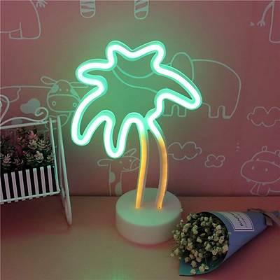Palmiye Neon Dekor Aydýnlatma
