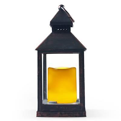 Alev Efektli Dekoratif Bronz Gemici Feneri