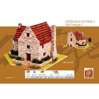 DIY Model House - Gerçek Taþ Eski Köy Ev