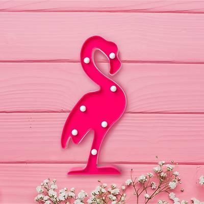 Dekoratif Mini Flamingo Led Aydýnlatma