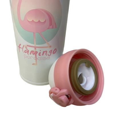 500ml Flamingo Desenli Çelik Termos