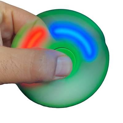 Led Iþýklý Stres Çarký - Hand Spinner