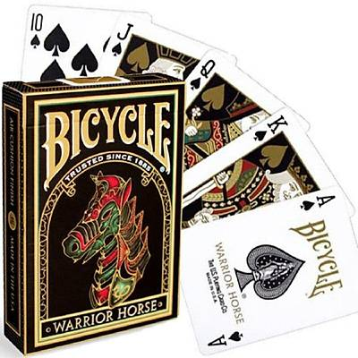 Bicycle Warrior Horse Poker Destesi