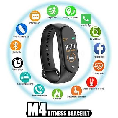 M4 Dokunmatik Renkli Ekran Akıllı Bileklik