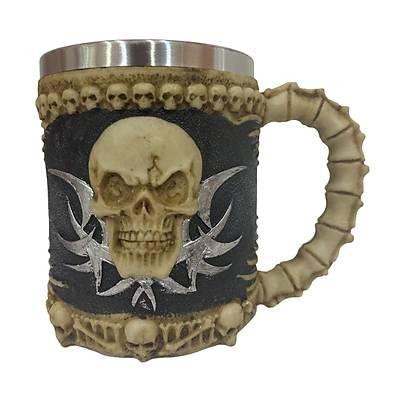 Kemik Kuru Kafa Kupa - Skull Mug