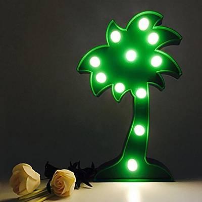 Palmiye Led Dekoratif Lamba