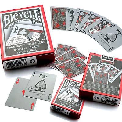 Bicycle Tragic Royal Karanlýkta Parklayan  Oyun Destesi