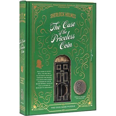 Sherlock Holmes Princeless Coin Puzzle - Professor Puzzle