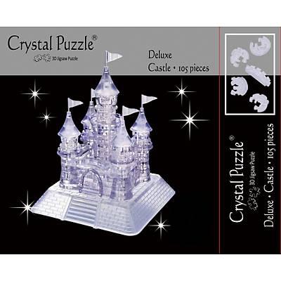 3D Crystal Puzzle Clear Castle- 3 Boyutlu Saydam Þato Puzzle
