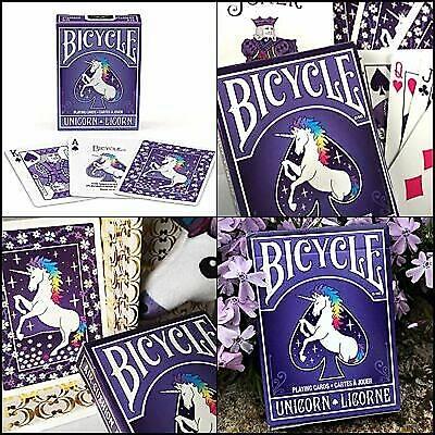 Bicycle Unicorn Licorne Premium Oyun Destesi
