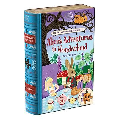 Professor Puzzle Jigsaw Library 3 lü Set - (Wizard of Oz, Alýce in Wonderland, Jungle Book)