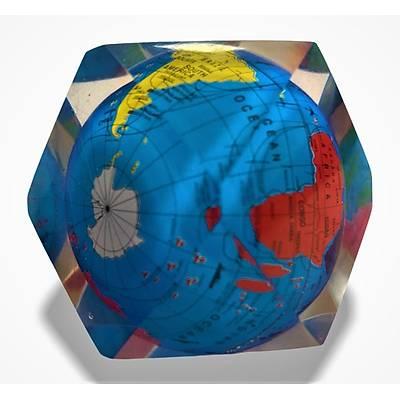 Kristal Dekor Dünya Modeli