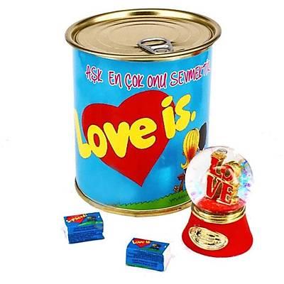 Şıpsevdi (Love is) Temalı Aşk Konservesi