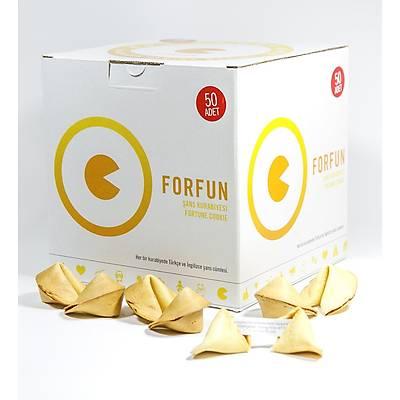 Þans Kurabiyesi Ekonomik Paket - 50'li  Forfun Fortune Cookie