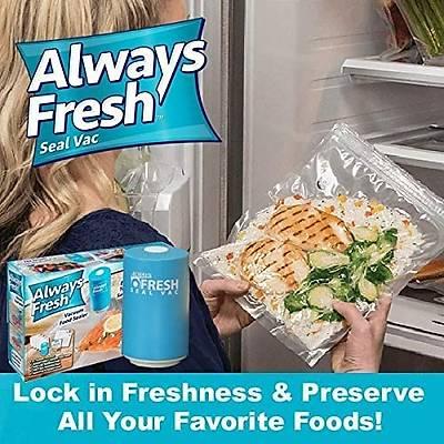 Always Fresh - Vakumlu Yiyecek Saklama Poþeti