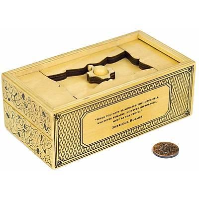 Sherlock Holmes Treasury Safe Puzzle - Kumbara Puzzle
