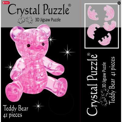 3D Crystal Puzzle Teddy Bear - 3 Boyutlu  Ayýcýk Puzzle