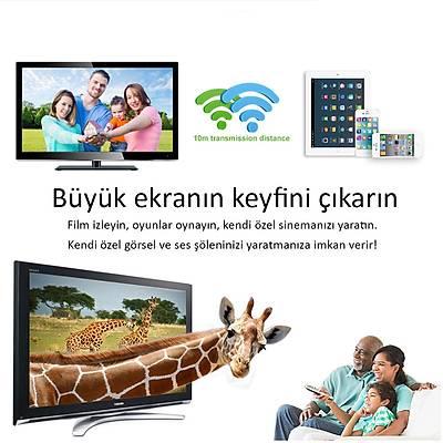 Anycast Wireless Display - HDMI Ekran Görüntü Aktarýcý M9 Plus