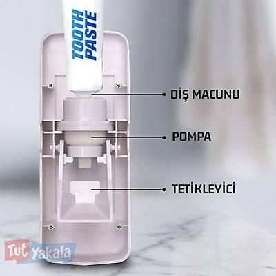 Diþ Macunu Sýkma Aleti ve Fýrça Tutucu