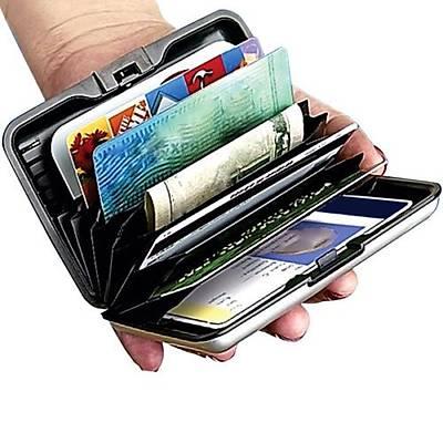 Aluma Wallet Safe Guard - Alüminyum Kredi Kartlýk Cüzdan