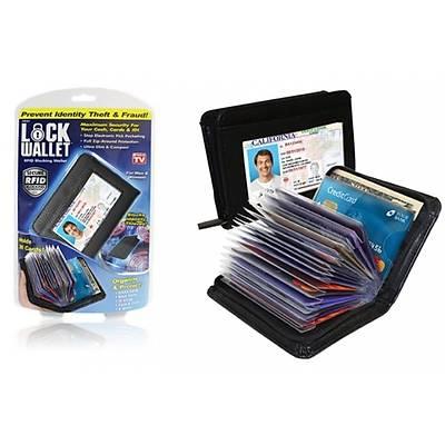 Lock Wallet - RFID / NFC Korumalý Cüzdan