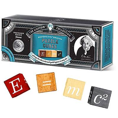 E=mc2 Einsteins Puzzle Cubes