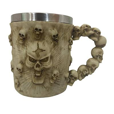 Kuru Kafa Kupa - Skull Mug