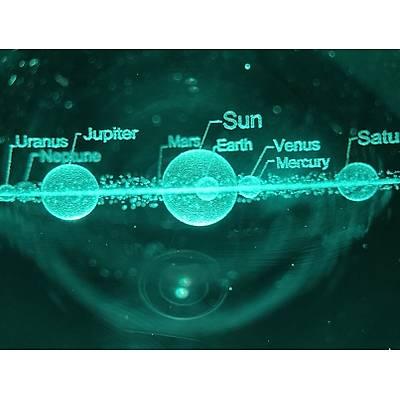 Iþýklý Dekoratif Güneþ Sistemi
