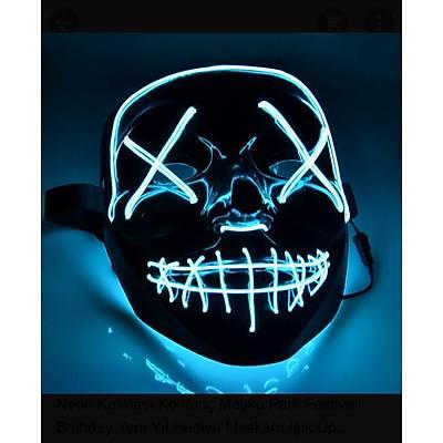 Neon Kafatasý Maskesi