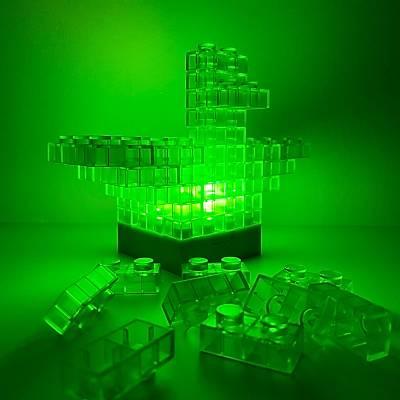 Dýy Block Light - Iþýklý Yapý Bloklarý Masa ve Gece Lambasý