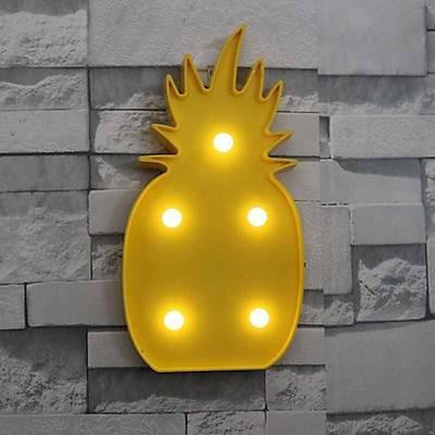 Ananas Dekoratif Led Lamba