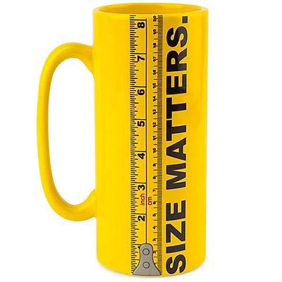Ruler Mug - Size Matters Cetvel Kupa Bardak