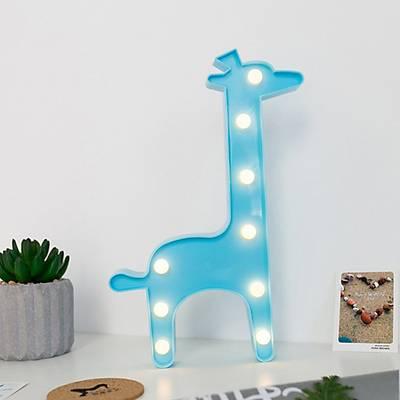 Zürafa Dekoratif Led Lamba