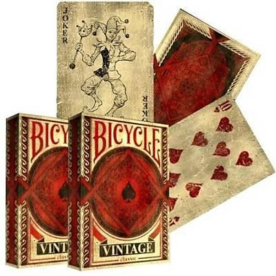 Bicycle Vintage Classic Oyun Destesi