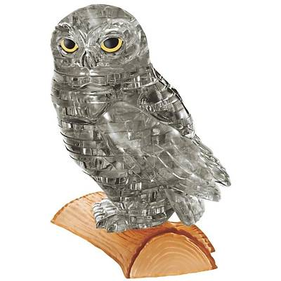 3D Crystal Puzzle Owl - 3 Boyutlu Baykuþ Puzzle
