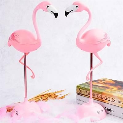 Dokunmatik Led Flamingo Gece - Masa Lambasý