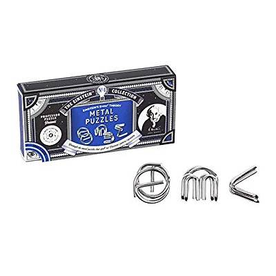 Einstein's Metal Puzzles 3 Set
