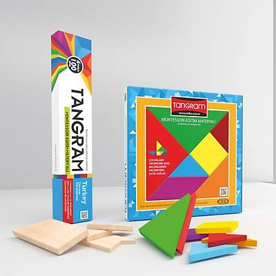 Tangram - Montessori Eðitim Materyali