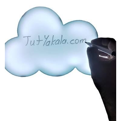 Speech Bubble Lightbox - Yazýlabilir Led Bulut