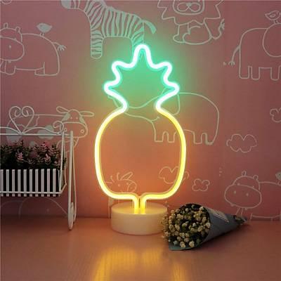 Ananas Neon Dekor Aydýnlatma