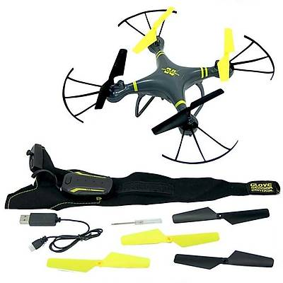 Eldiven Ýle Kontrol Edilebilir Drone Orjinal