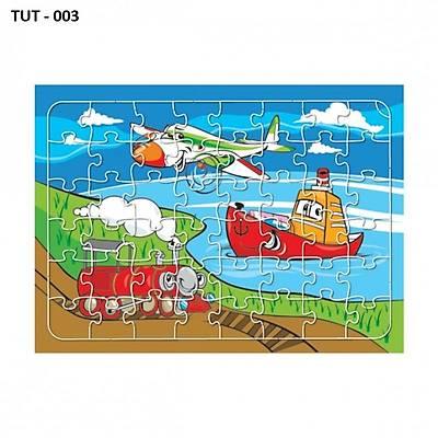 Büyük Boy Ahşap Yapboz - Puzzle