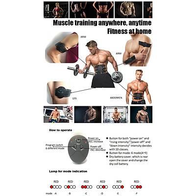 Smart Fitness EMS Six Packs