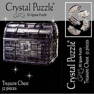 3D Crystal Puzzle Treasure Chest - 3 Boyutlu Hazine Sandýðý