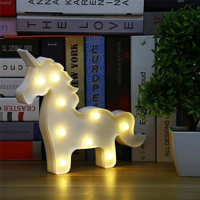Unicorn Dekoratif Led Lamba
