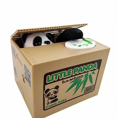Hýrsýz Panda  Kumbara - Little Panda Bambu Bank