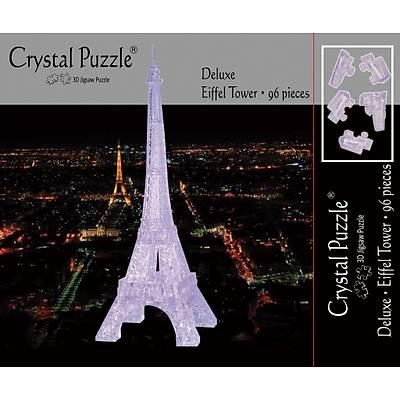 3D Crystal Puzzle Clear Eiffel Tower - 3 Boyutlu Saydam Eyfel Kulesi Puzzle