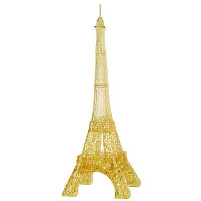3D Crystal Puzzle Gold Eiffel Tower - 3 Boyutlu Altýn Eyfel Kulesi Puzzle